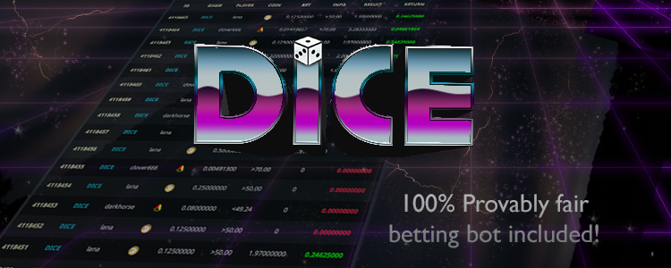 Crypto Dice game